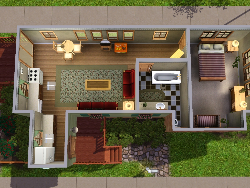 Enjoyable Family Homes For Sims 3 At My Sim Realty Largest Home Design Picture Inspirations Pitcheantrous