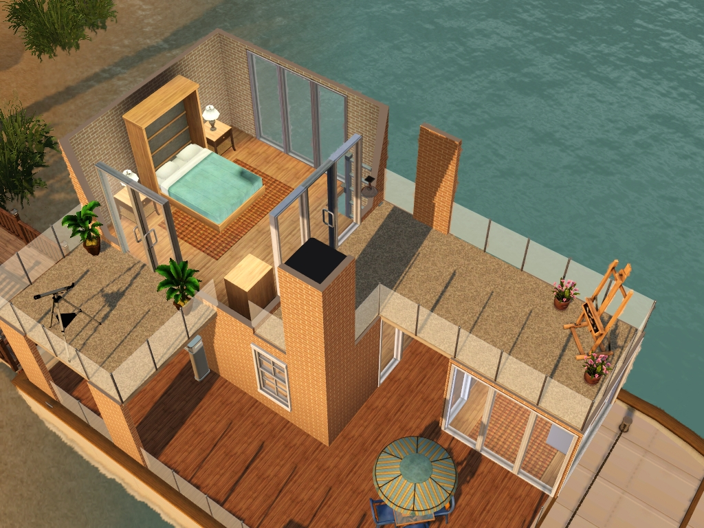 Sims 3 Bedroom Houseboats For Sims 3 At My Sim Realty