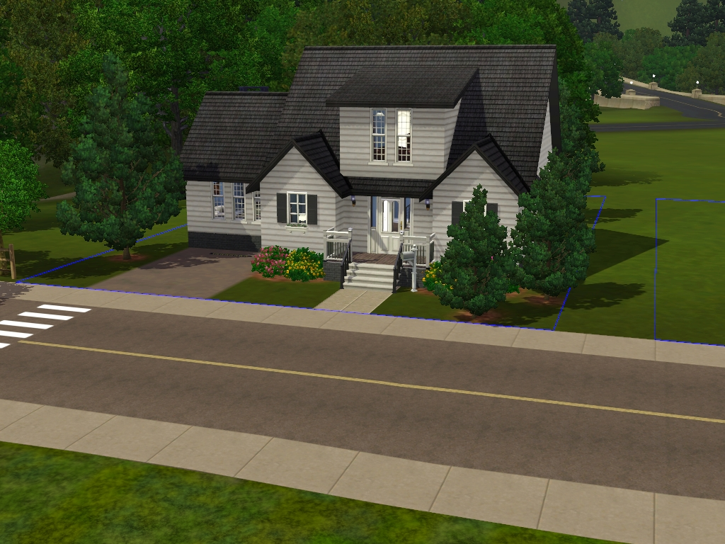 Image gallery sims 3 homes for Classic house sims 3