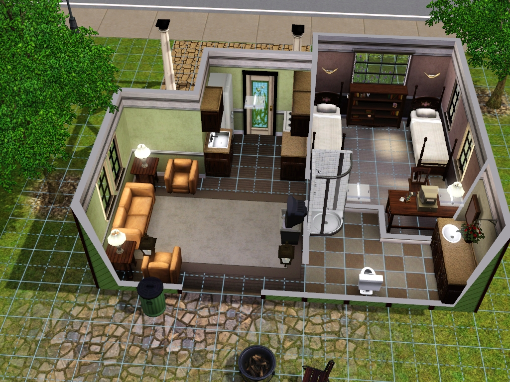 Starter homes for sims 3 at my sim realty for Small starter homes