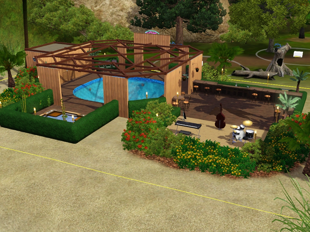 Roulettes pour porte fenetre coulissante de v randa for Pool design sims 4