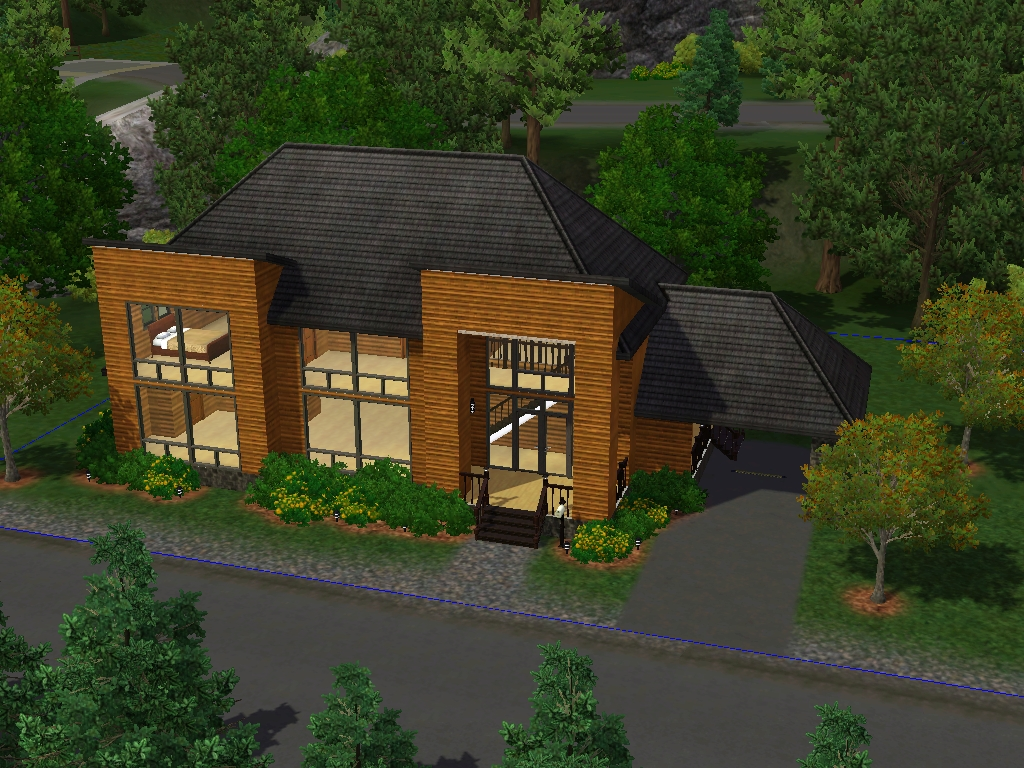 Family homes 75000 for sims 3 at my sim realty