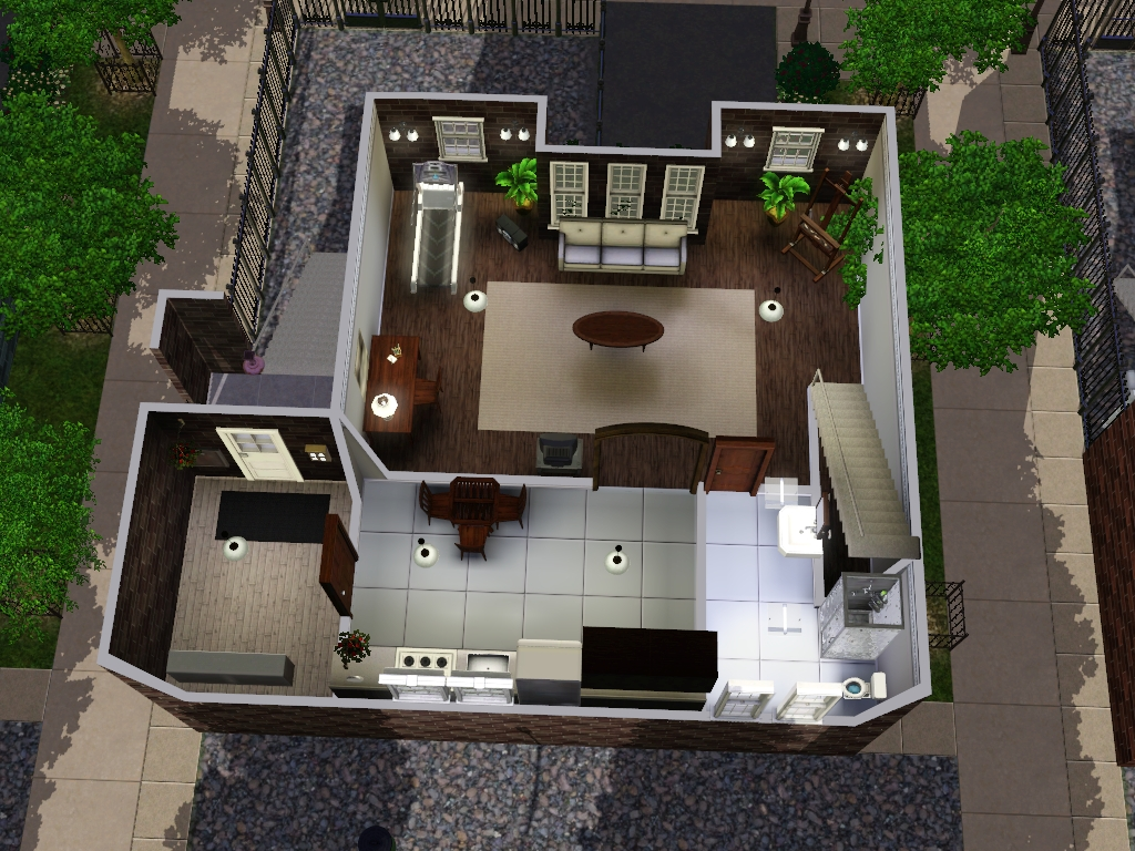 the sims 4 how to add floors to apartments