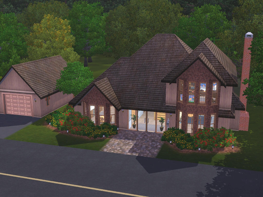 Sims 3 Bedroom Family Homes Up To 75000 For Sims 3 At My Sim Realty