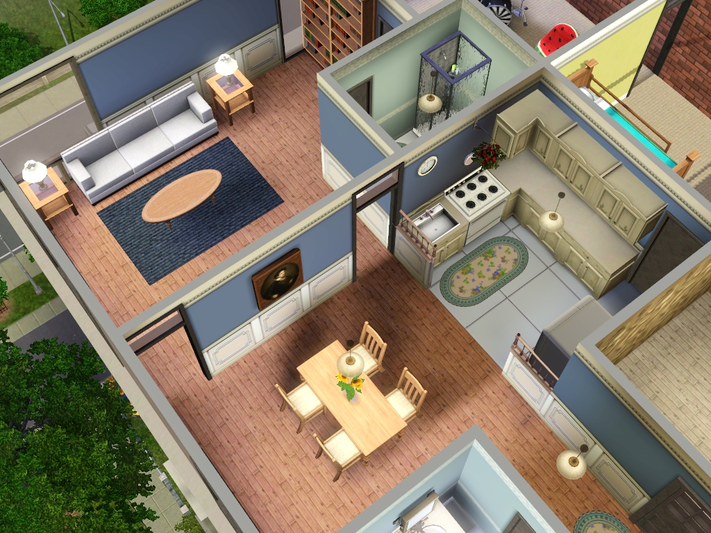 Apartments for sims 3 at my sim realty for 30x30 garage with apartment