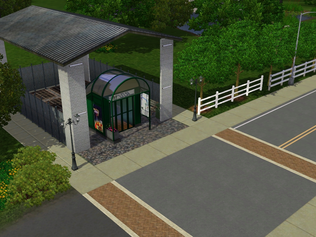 sims 3 how to go home from community lot