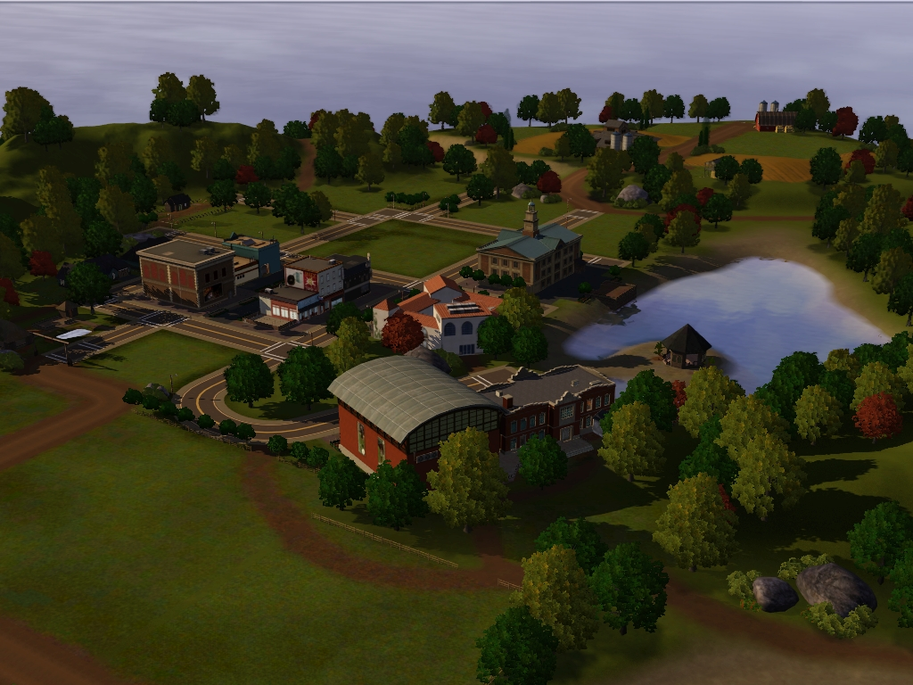 Custom Worlds For Sims At My Sim Realty - Blank world map sims 3