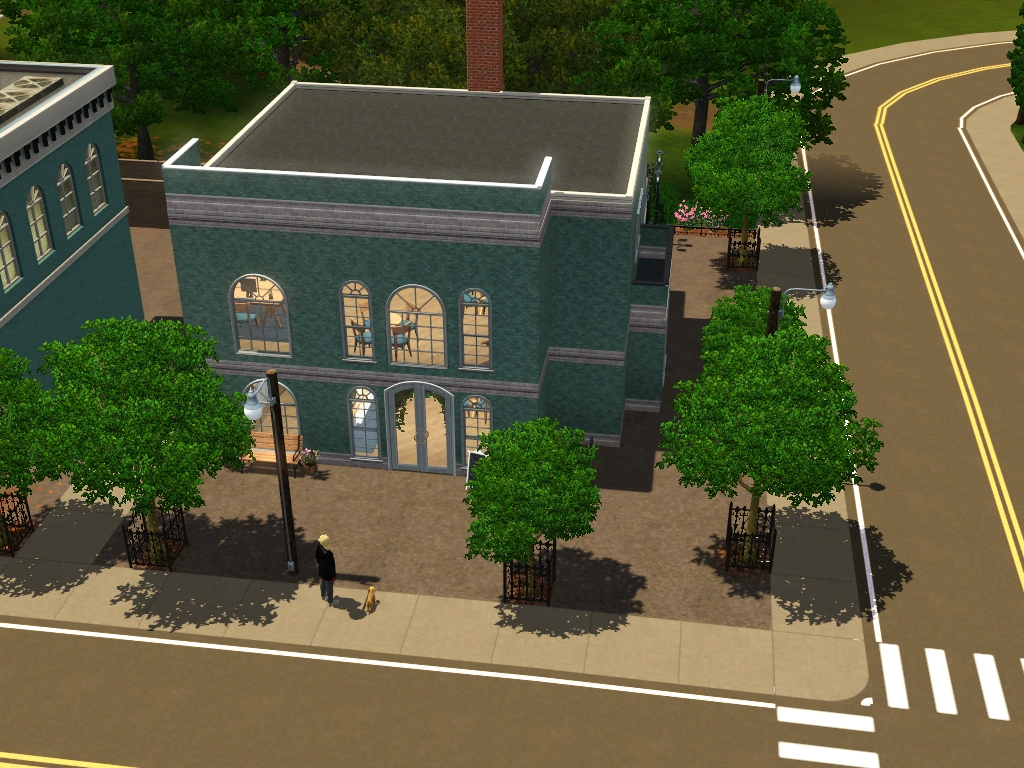 University Lots: Community Lots for Sims 3 at My Sim Realty