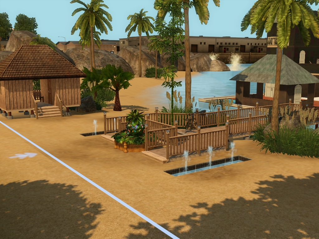 Island Paradise Lots Community Lots For Sims 3 At My Sim