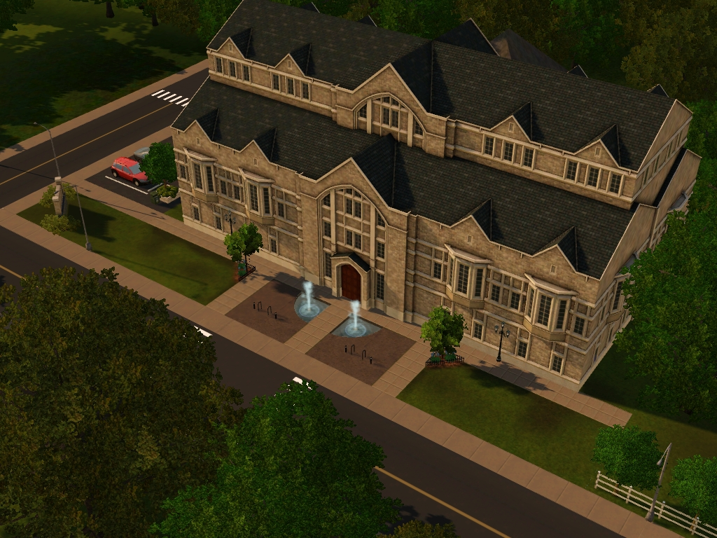 sims 3 student union download