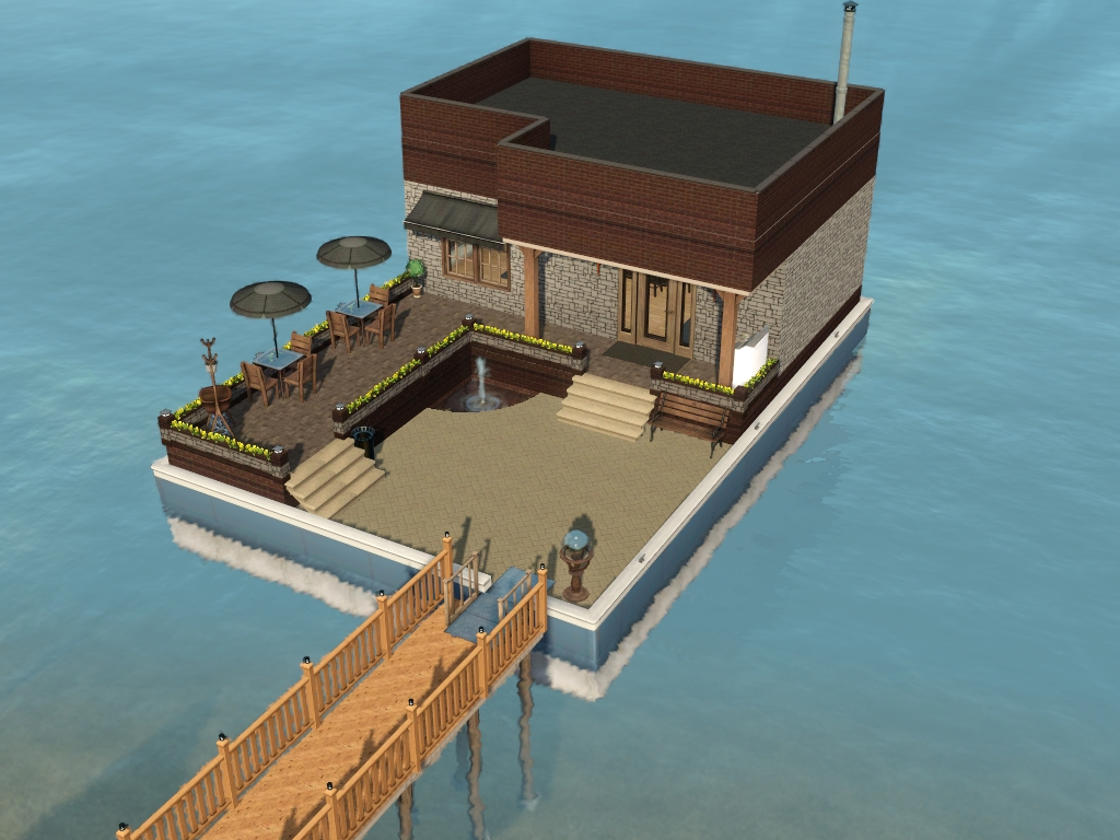 Supernatural Lots: Community Lots for Sims 3 at My Sim Realty
