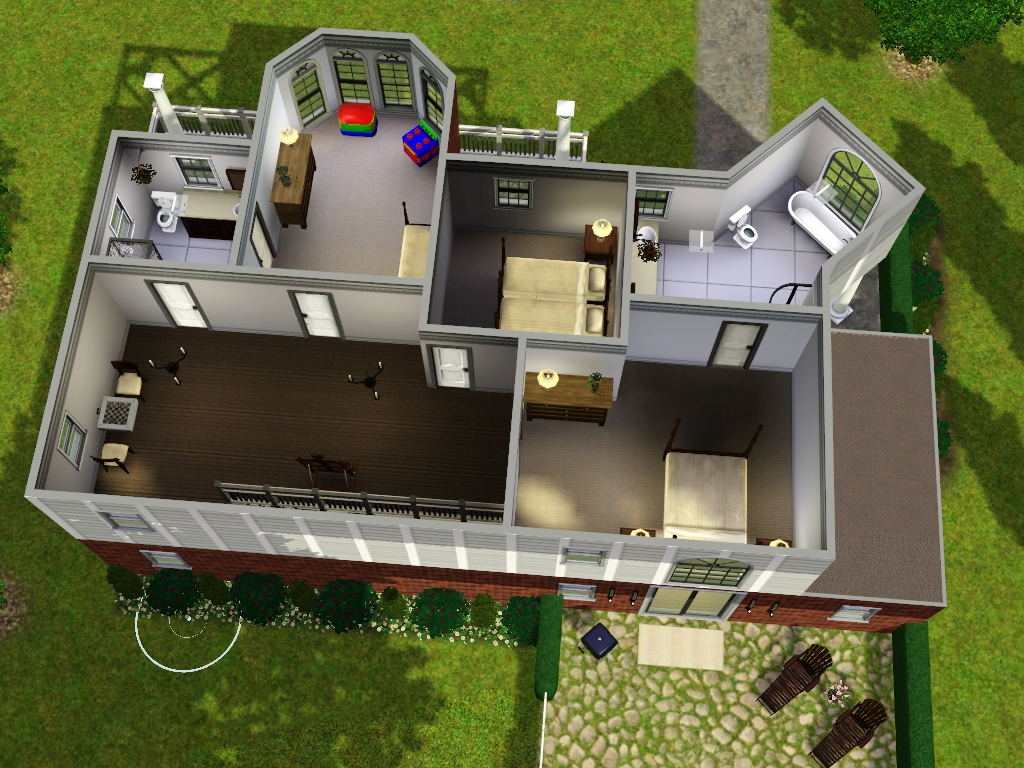 4 Bedroom Upstairs Layout