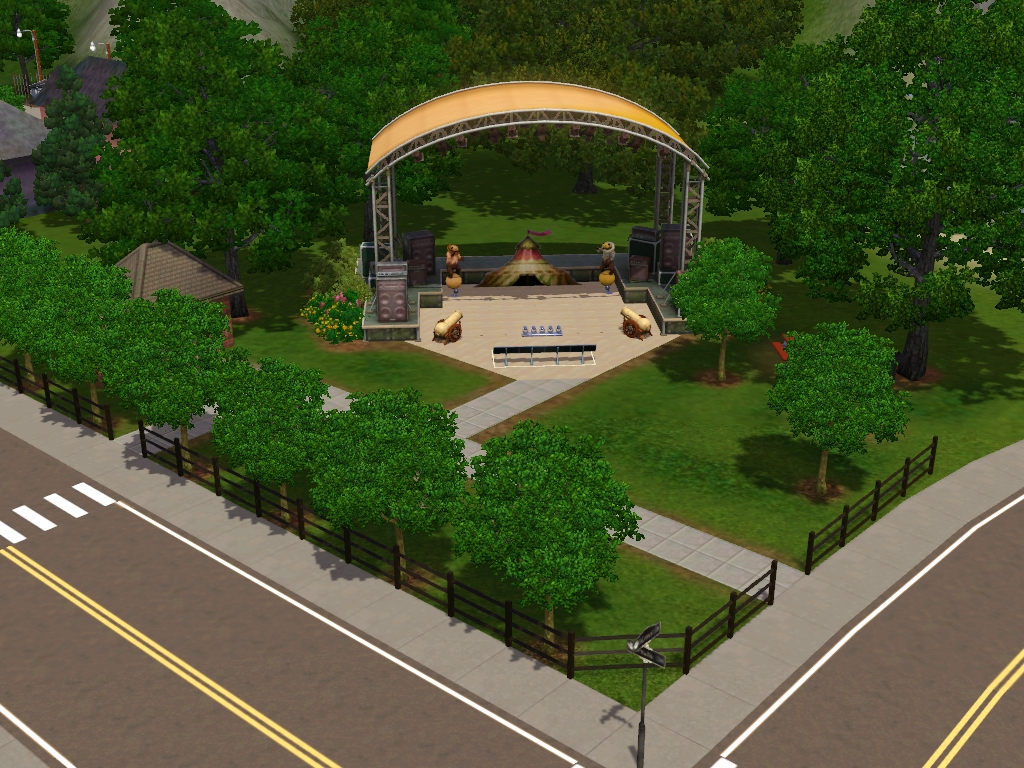 Showtime Lots: Community Lots for Sims 3 at My Sim Realty