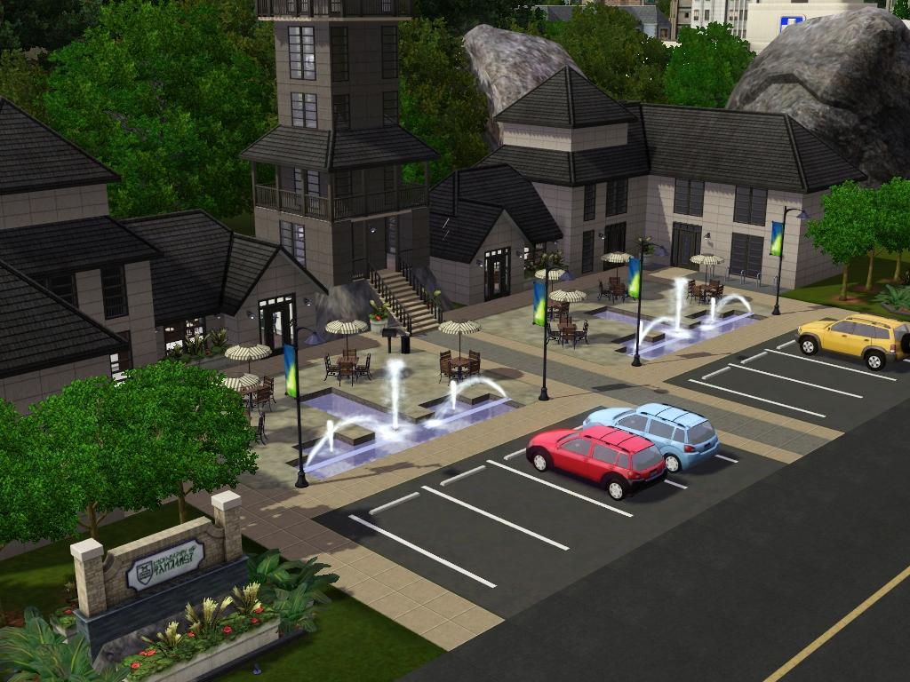 Custom Universities: Community Lots for Sims 3 at My Sim Realty