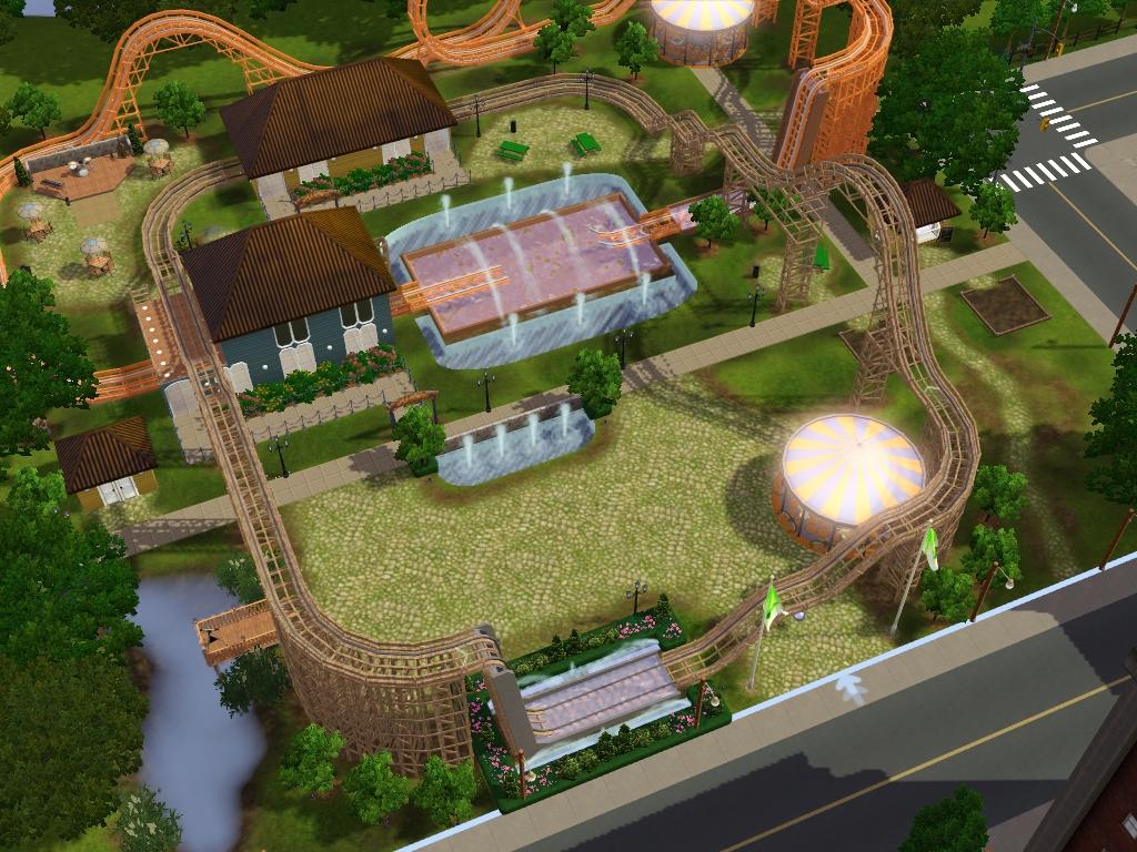 Seasons Lots: Community Lots for Sims 3 at My Sim Realty